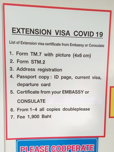 How To Extend Thai Visa In Thailand Due To Covid 19 Thaiest