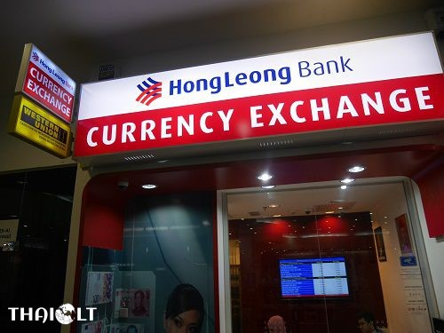 Currency exchange at Penang Airport