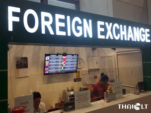 Currency Exchange at Manila Ninoy Aquino International Airport (NAIA) Terminal 3