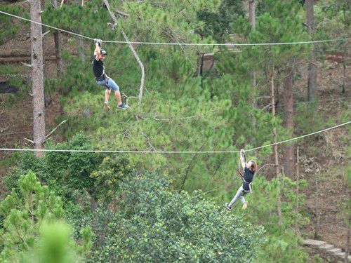 High Rope Course Adventure