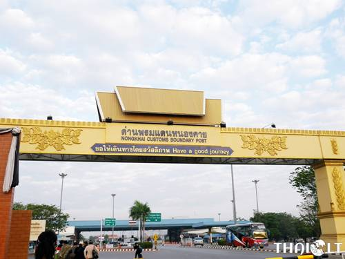 Border Crossing Thailand to Laos via the Friendship Bridge