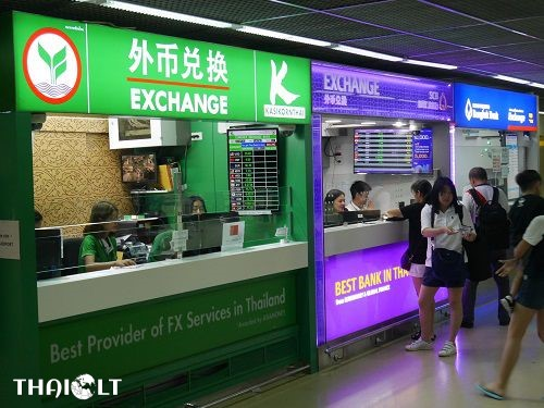 Currency Exchange at Bangkok Don Mueang International Airport (DMK)
