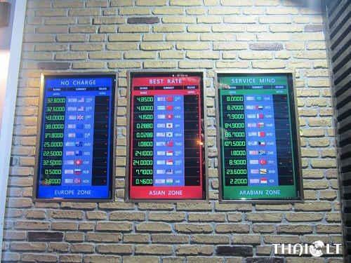 Other Money Changers around Sukhumvit